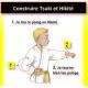 Cartel de la progresión por grados de karate kids