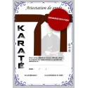 Certificate brown belt